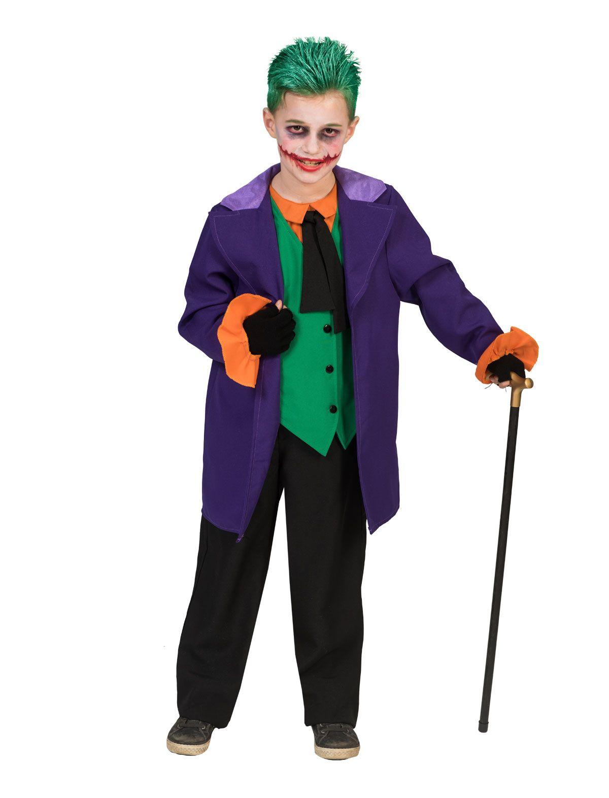 996ddf20917 Joker kostume til børn - Køb nu - Bergdahls Festbutik
