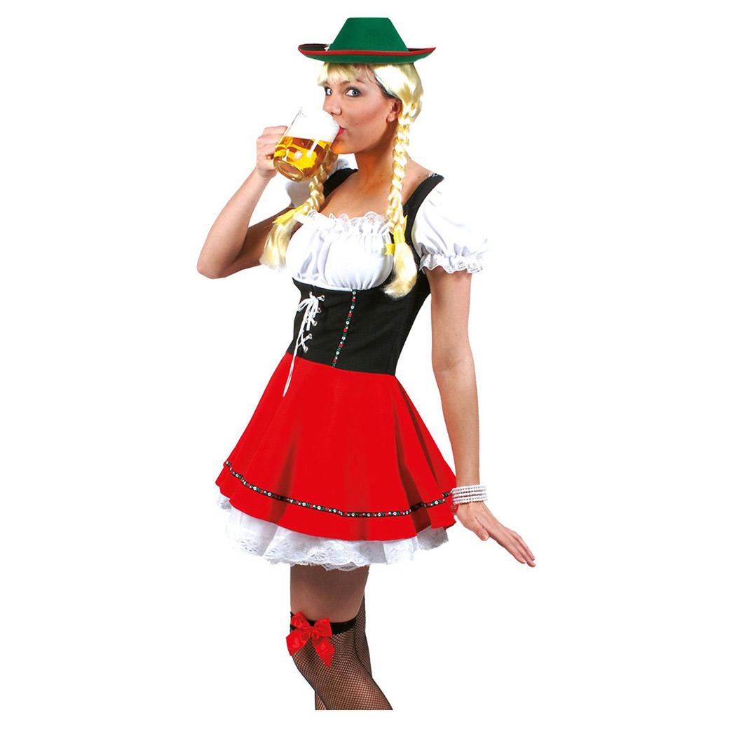 067378eb Tyroler øl babe - køb Tyroler kjolen her - stort udvalg - Bergdahls ...